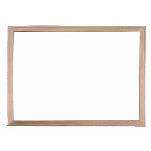 Wood Framed Magnetic White Dry-Erase Board (24 x 36 ()