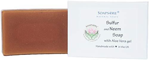 ATTIS Sulphur and Neem Handmade Natural Soap  | Vegan | with