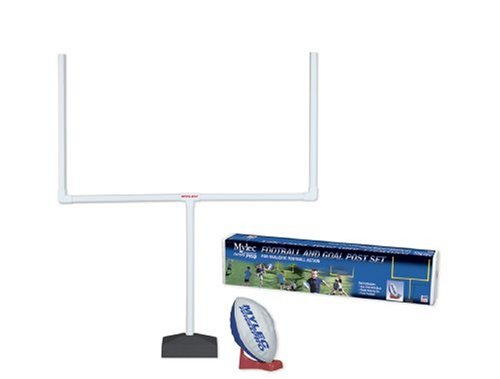 Mylec Football and Goal Post Set