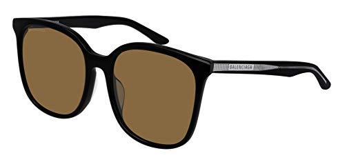 Balenciaga BB0018SK Sunglasses 002 Havana/Brown Lens 56 mm