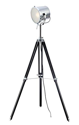 Lite Source Floor Lamps Ls-82337 Trey Floor Lamp, Chrome/Black, 18