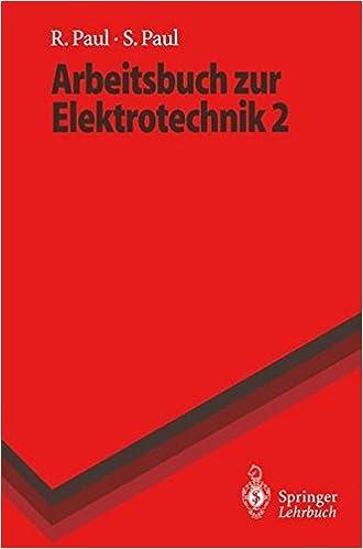 Book Arbeitsbuch zur Elektrotechnik (Springer-Lehrbuch)