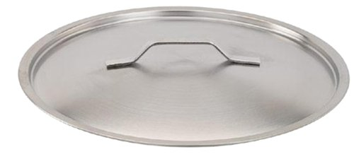 Paderno World Cuisine Stainless Steel 15 3/4 Inch Lid