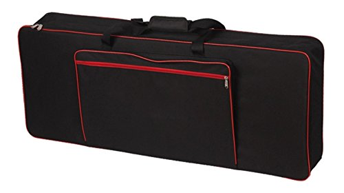Tosnail 61-note Keyboard Gig Bag with 10mm Thick