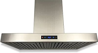 CAVALIERE SV198Z-30E Wall Mounted Range Hood, Stainless Steel, 30""