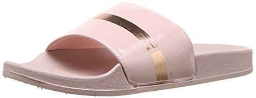 Kenneth Cole REACTION Womens Pool Sporty Slide Sandal with Kc Branding