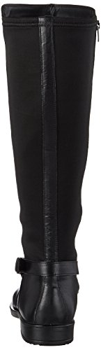 Black Textile Women's M Riding Women's Boot Black 15 Cow Shape Leather ECCO Tall TzSq7Uww
