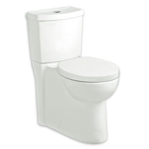 Dual Flush Round Front Toilet (American Standard 2795.204.020 Studio Concealed Trapway Dual Flush Right Height Round Front Toilet, White)