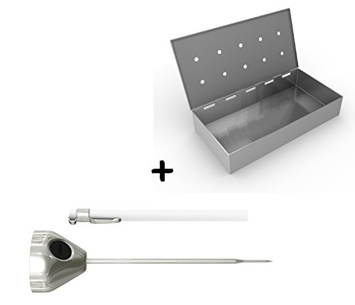 Smoker Box Digital Cooking Thermometer