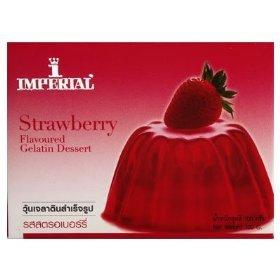 Imperial Strawberry Flavoured Gelatin Dessert 100g.(pack of 3)