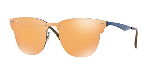 Ray-Ban-RB3576N-90377J-Blue-Orange-Blaze-Square-Sunglasses-Lens-Category-3-Le