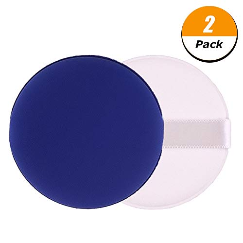 Firtink 2 Pack Cosmetic Air Cushion Powder Puff for Compact Replacement for Powder Foundation Container, ()