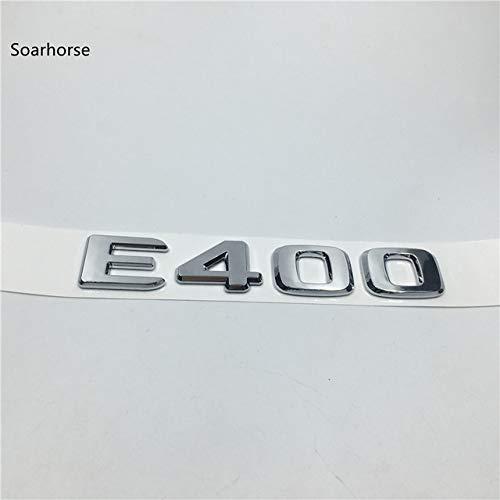 E400 for Mercedes W211 W212 E-Class Rear Emblem Letters Sticker E55 E200 E220 E230 E240 E250 E300 E320 E350 E400 E420 E500 E550 - (color Name  E240)