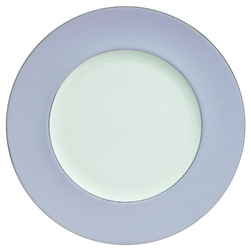 Waterford Lismore Butterfly Round Platter, 12-Inch, Lavender Border