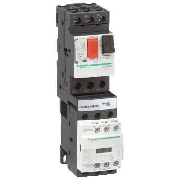 Schneider GV2DM106BD Direct Starter, 0.55kW 415V/AC3/DC 24V 1Direction