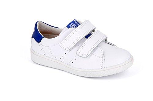 Pablosky 257401 - Zapatillas con velcro  infantiles Blanco