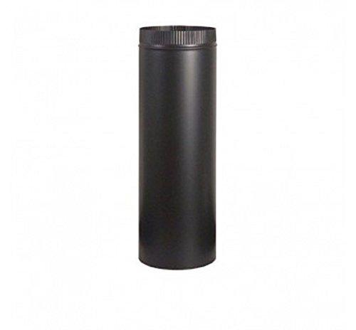 Blk Stl Pipe (Stovpipe Blk Stl 4x24