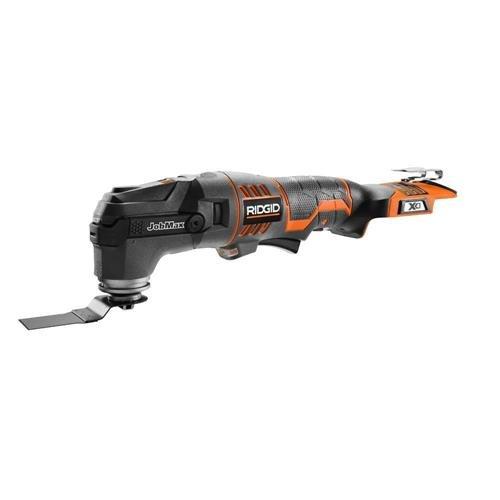 18V JobMAX Multi-Tool with tool free head by Ridgid