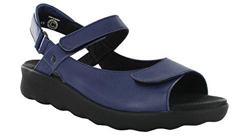 Wolky Womens Pichu Sandal Steel Blue uRpJSyrwLz