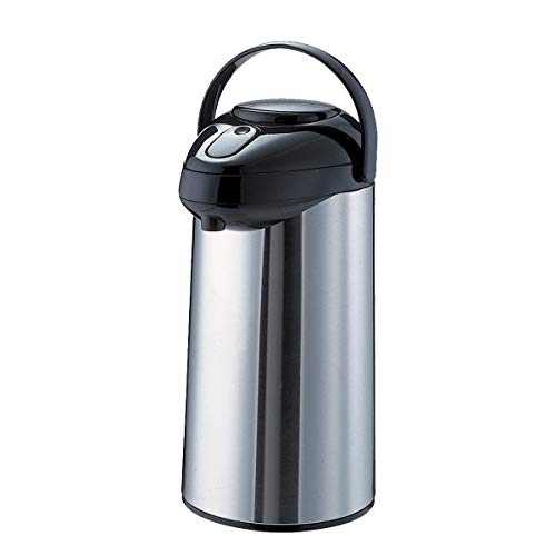 Service Ideas SSA300 SteelVac Airpot, Stainless Vacuum, 3 L