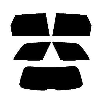 Pre cut window tint - Audi A4 Estate - 2001 to 2007 - Rear windows - 35% Light Smoke