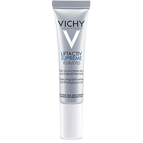 Vichy LiftActiv Supreme Anti-Wrinkle Eye Cream, 0.51 Fl. Oz. - Care Hair Skin And Aqua