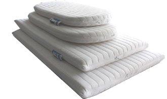 Nightynite® Ambassador Anti-allergenic Crib Mattress 76m x 40cm, Microfibre Removable Washable Zip Cover Square Corners Exclusive to The Cot Mattress Company LTD AMB8940