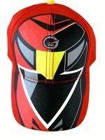 4535a95fd8a0a Power Rangers Hat   Baseball Cap - Power Rangers Fierce Defender Kids  Baseball Hat (Red