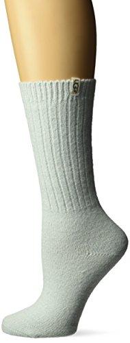 UGG Womens Rib Knit Slouchy Crew Sock