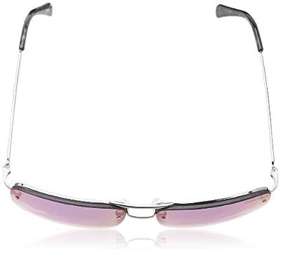 Calvin Klein Men's CWR155S-047 Aviator Sunglasses, Gunmetal, 16 mm