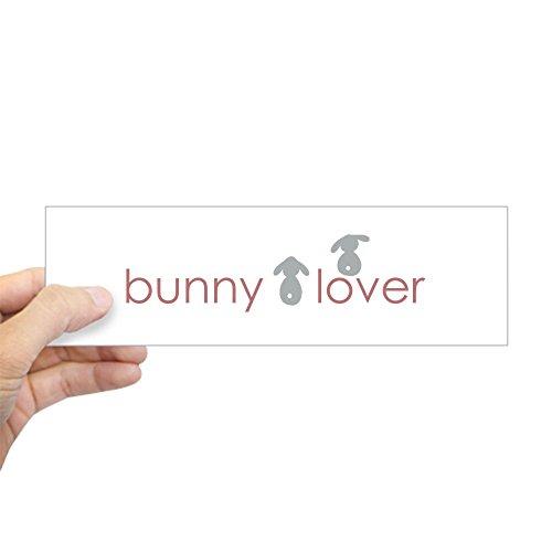 (CafePress Bunny Lover Bumper Sticker 10
