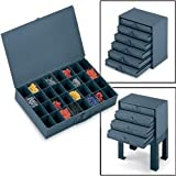 Durham 21-Compartment Metal Extra Drawer Storage Case - Large