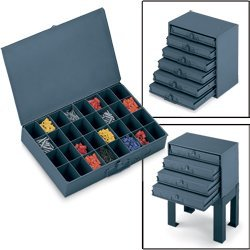 Metal Storage Drawers - 4
