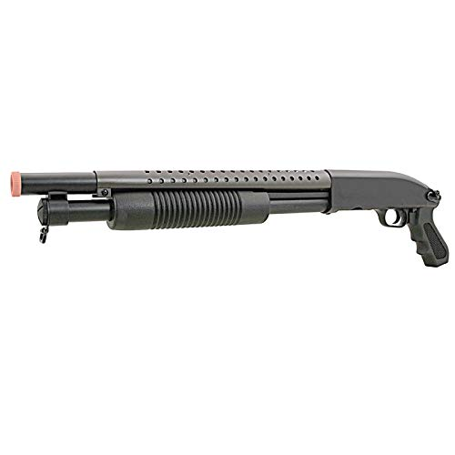 BBTac Airsoft Pump Action Shotgun Rifle 400 FPS -