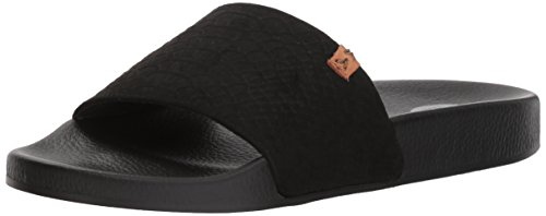 Black Dr Microfiber Shoes Snake mujer Scholl's Print para Sandalias wwAqXxgnCv