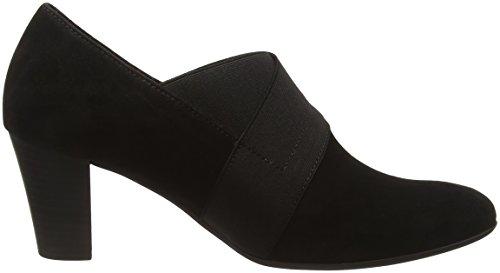 Gabor Shoes 52.162 Damen Geschlossene pumps Schwarz (schwarz (Fu rot) 47)