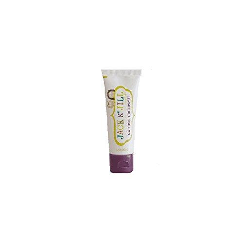 Jack N' Jill Natural Toothpaste Organic Blackcurrant 50g (Pack of 6) - ジャックN 'はジルの天然歯磨き粉有機ブラックカラント50グラム (x6) [並行輸入品] B01N1I5JLD