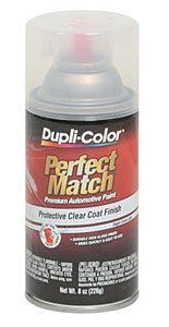Dupli-Color BCL0125 Clear Perfect Match Automotive Top Coat - 8 oz. - Fiero 1985 Pontiac