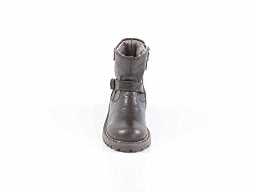Verdecchia Montana 1403A Kurz Stiefel Leder Stiefelette mit Fellfutter