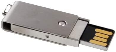 Comouter /& Networking 8GB Metal Series Push-Pull Style USB 2.0 Flash Disk Data Storage Silver