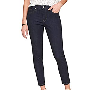 Banana Republic Womens Stretch Sculpt Skinny Jean Dark Rinse Wash