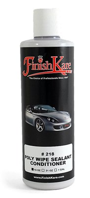 Finish Kare 218 Poly Wipe Sealant Conditioner, 15 oz - 3 Pack