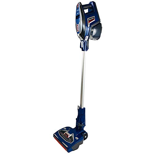 Shark Rocket DuoClean Vacuum Cleaner Ultra-Light Upright Design for All Types of Floors and Uphlostery HV381 (Renewed) (Navy Blue)