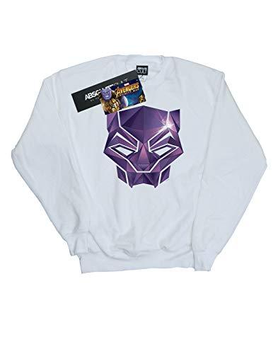 Mujer Camisa Blanco War Geometric Black Marvel Infinity Avengers Entrenamiento De Panther TqwT4d