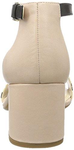 Beige Combi Sandals Heels Belle Women's Wedge Nude Barley Clarks Pink aZqPw