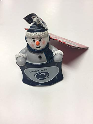 FC Officially Licensed NCAA Snowman Towel Holding Ornament Penn State Nittany Lions