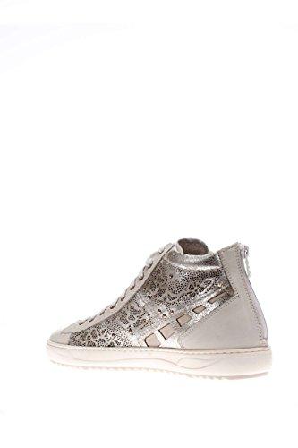 Con Blanco Sneaker Tapa Giardini 707 Mujer Nero Alta P615241d 0RExYq108w