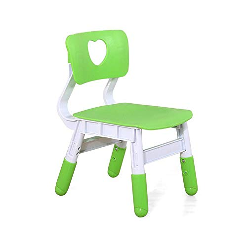 Chairs CJC Stools Children's Bedroom Furniture Seat Garden Nursery School (Color : Green) by Chairs (Image #3)