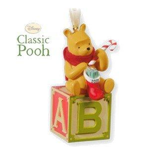amazoncom babys first christmas winnie the pooh 2010 hallmark - Winnie The Pooh Christmas Decorations
