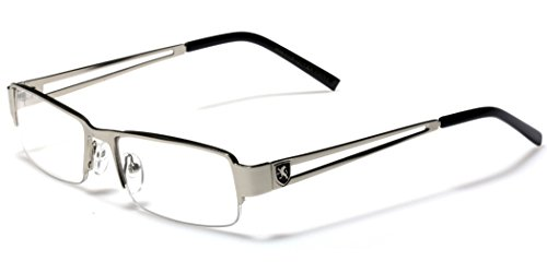 Small Rectangular Frame Clear Lens Designer Sunglasses RX Optical Eye - Rectangular Frames Eyeglass